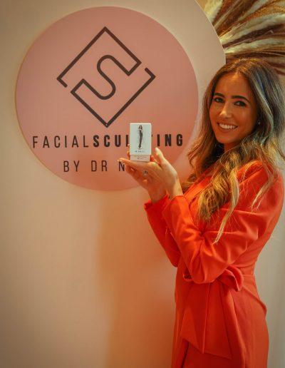 DR Nina Bal Face Sculpt Serum Press Event